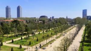 El parque tiene más de 17 hectáreas. Foto del Ayuntamiento de Barcelona