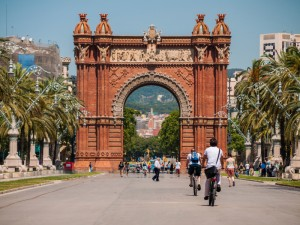 You can bike from your apartment to the most interesting places of Barcelona.