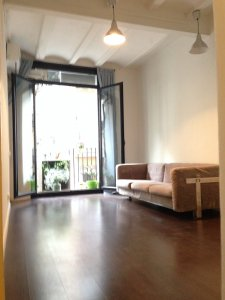 Encantador piso con dos dormitorios en Raval