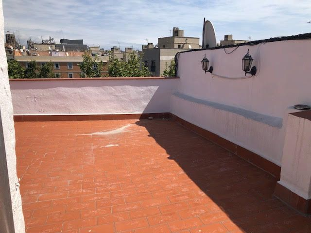 Penthouse with terrace at the Raval