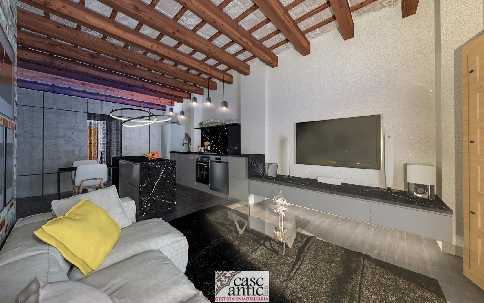 New flat in Rbla. del Raval